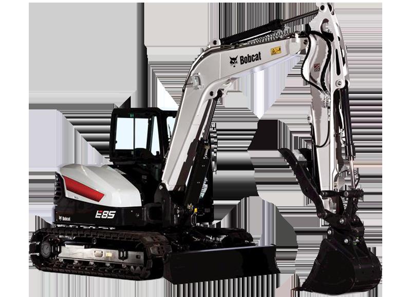 bobcat compact e85 excavator